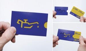 нестандартные визитки / визитки